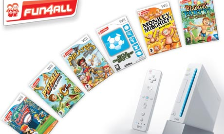 Come and Enjoy Wii Games with friends!!
