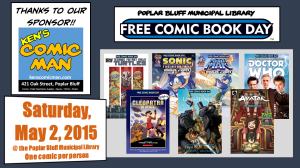 2015 Free Comic Book Day