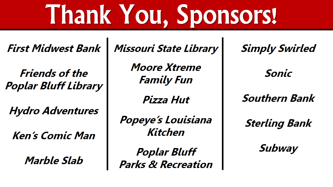Thank you for a great Summer Reading Program!! – Teen Blog